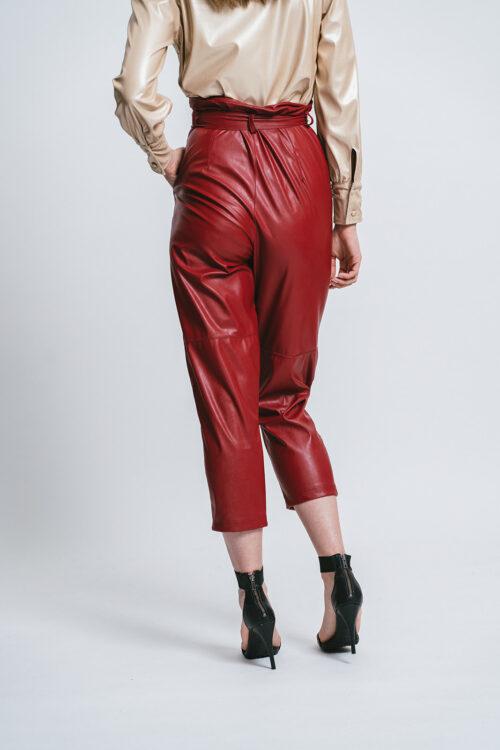 Pantalone in eco-pelle