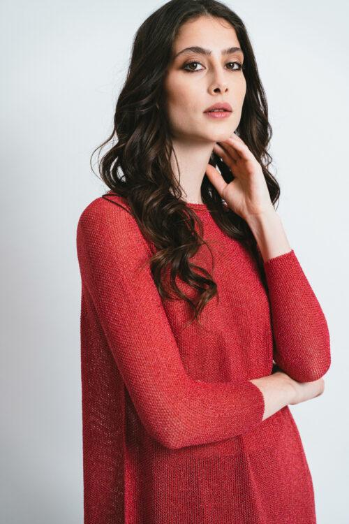 Soft Lurex sweater Maia
