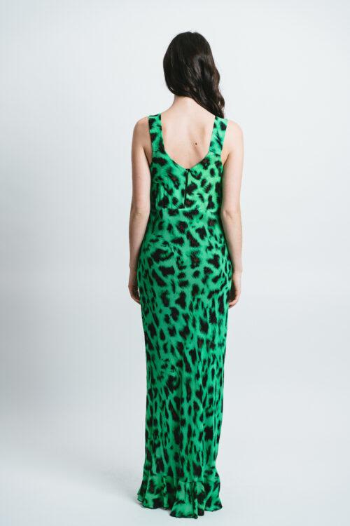 Long printed Slip Dress