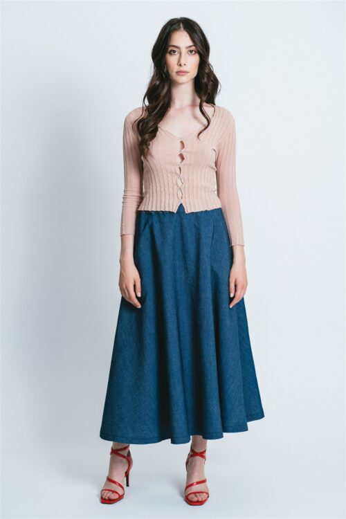 Denim skirt Lidia