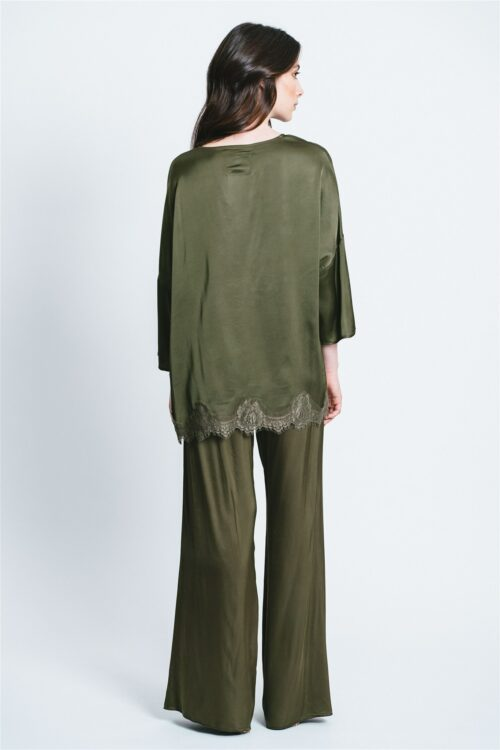 T-shirt over con Pizzo Jess