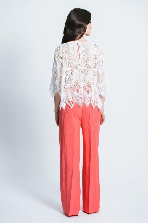 Macro lace sweater Nicole