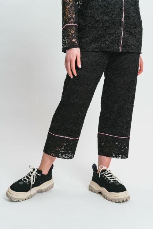 Black Lace Set