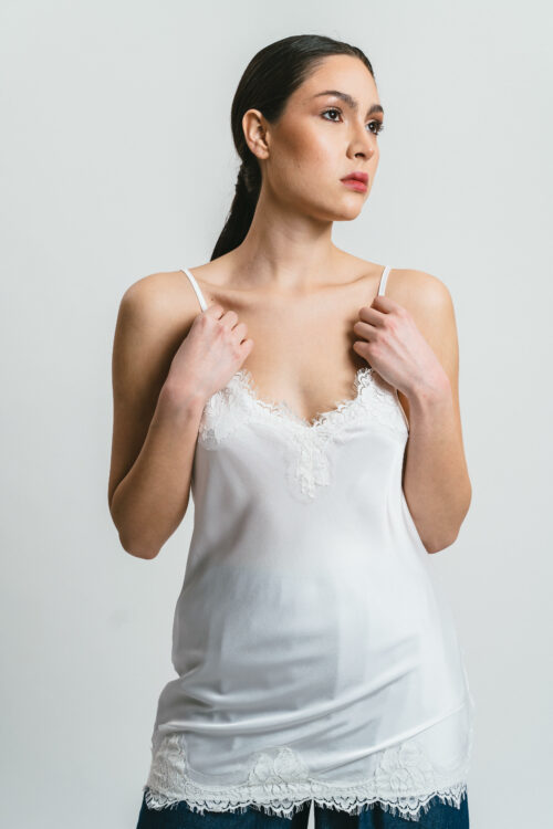 Top  with lace Camille