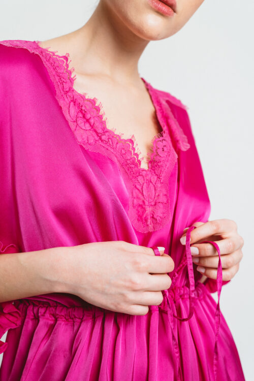 Long kimono with coulisse Ruby