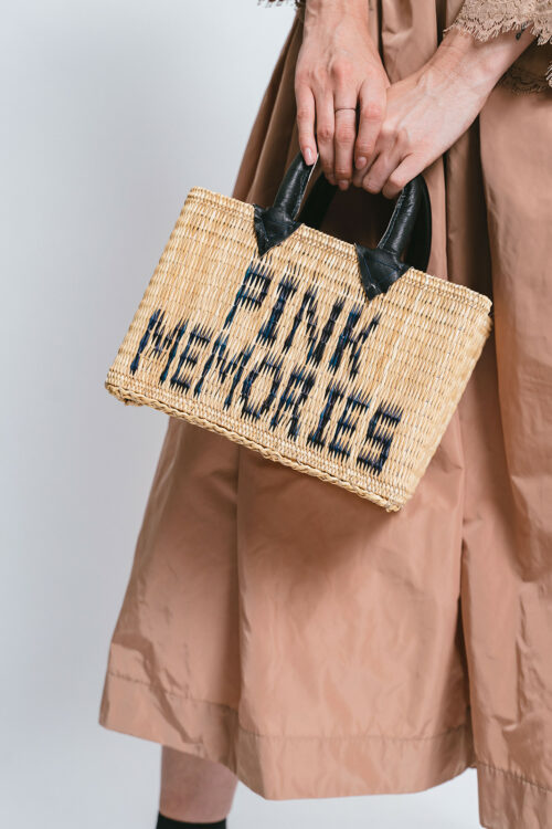 Small straw bag