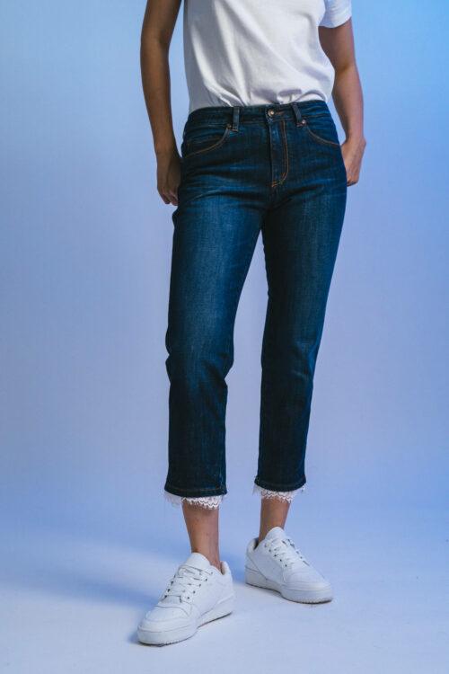 Lace cigarette pants Marina